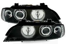 CCFL Angel Eyes Fari per BMW E39 Neri