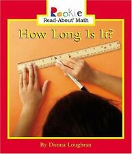 How Long Is It? (Rookie Read-About Math)-ExLibrary