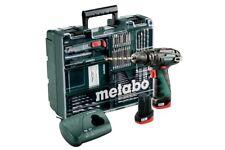Metabo Akkuschrauber PowerMAXX SB Basic Set - Mobile Werkstatt - Schlagbohrer