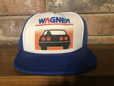 VINTAGE WAGNER BRAKE & LIGHTING PRODUCTS SNAPBACK TRUCKERS STYLE HAT