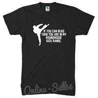 Roundhouse Kick Range funny Mens Karate Tshirt Kung Fu Top t Shirt Womens Kids