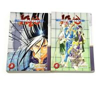 Samurai Deeper Kyo Vols 3 & 4 Manga by Akimine Kamijyo Lot of 2 Books English