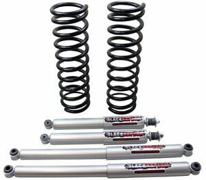 "Terrano 2 LWB 5DR 2"" / 50mm Black Raptor suspension lift kit Fits Nissan"