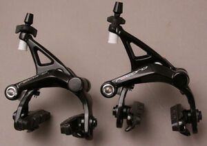 Campagnolo Record Brakeset Dual Pivot Front and Rear, Black New In Box BR19-REDP