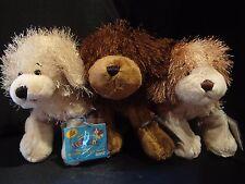 Webkinz LOT of 3 DOGS:  GOLDEN RETRIEVER + COCKER SPANIEL + BROWN DOG  -  NWT