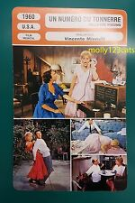 US Musical Bells Are Ringing Dean Martin Judy Holliday French Film Trade Card