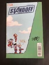 Avengers Standoff 1 Skottie Young Variant Signed COA Marvel Comics VF/NM
