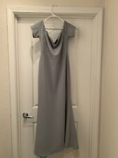 Lulus Floor Length Formal Dress In Slate/Blue Size XL- Worn Once