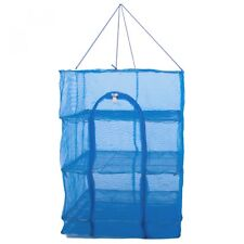 Foldable 3 Layers Drying Net Fish Net Drying Rack Hanging Vegetable Fish Dishes