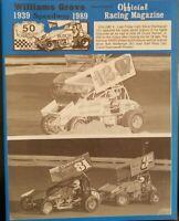 1989 Williams Grove Speedway Program Vol.4 Steve Stambaugh