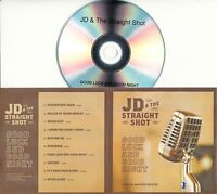 JD & THE STRAIGHT SHOT Good Luck And Good Night UK 10-trk promo test CD