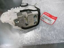 06-11 GENUINE HONDA CIVIC RIGHT PASSENGER REAR DOOR LOCK LATCH W/ ACTUATOR NEW