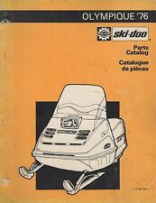 1976 SKI-DOO OLYMPIQUE SNOWMOBILE PARTS MANUAL 480 1034 00 (585)