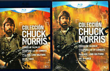 Chuck Norris Collection (1983-1986) MGM [4x BluRay UNCUT!]  FSK 18