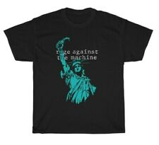 Rage Against the Machine Print Art Vintage American Rock Unisex T-Shirt Music