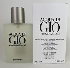 Acqua Di Gio 3.4 Oz Men Spray Edt Cologne Giorgio Armani Tst Pour Homme New