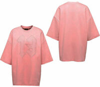 Puma x Rihanna Fenty Womens Rose Oversized Crew Neck T-Shirt Top 574751 03 A96B
