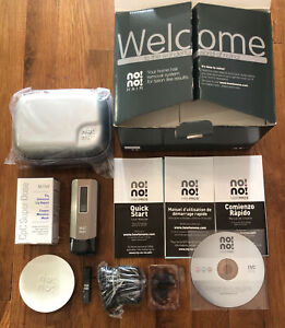 NO!NO! Pro5 Chrome HAIR REMOVAL SYSTEM + Travel Case + 2 TIPS & SM. BUFFER