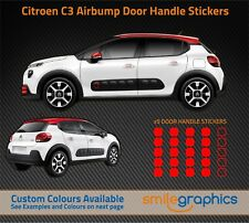 Citroen C3 Airbump Door Handle Stickers decals - Other colours available
