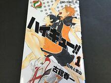 Haikyu!! Volume 1 Vol.1 Manga Jump Comics Book Haikyuu from JAPAN
