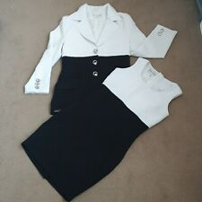 Message Blazer And Dress Suit Set Size UK 10