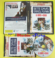 DVD film IL CONTE DI ESSEX Bette davis Errol Flynn 2009 FILM STORICI no vhs(D5)