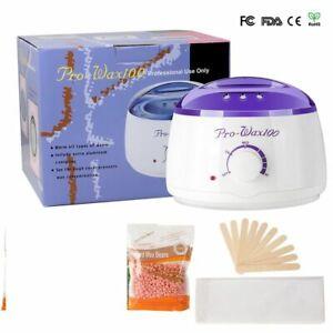 Professional Heater Warmer Hair Removal Wax Warmer kit Machine beans beads spa