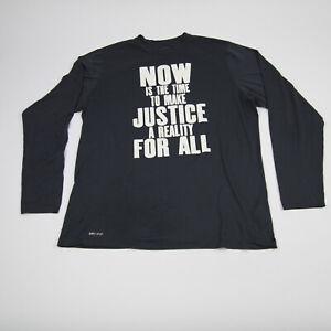 Chicago Bulls Nike Nike Tee Long Sleeve Shirt Men's Dark Gray Used