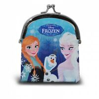 Disney Girls Frozen Princess Anna Elsa Olaf Coin Clasp Purse Wallet New Gift