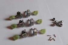 Vintage Gibson Kluson Style Guitar Machine Heads Tuners 3 per side 3×3 NEW