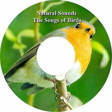 Natural Sounds The Songs of Birds CD Relaxation Help Sleep Stress Relief Calming
