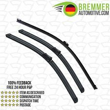Volvo C30 Coupe (2006 to 2014) Wiper Blade Complete Set X3 Front Rear