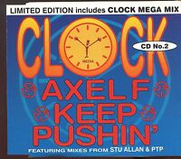 Clock / Axel F - Keep Pushin' - CD2