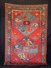 1900  CLOUDBAND KAZAK  CAUCASIAN RUG ... MOST EXCELLANT....5X8