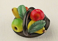 Gorgeous Marion Weeber / Weeber Like Fruit Basket Button