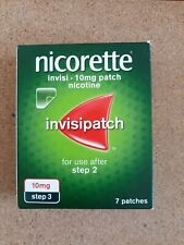 Nicorette Step 1 Invisi 25mg Nicotine Patches, Pack of 7