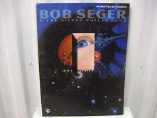 Bob Seger & The Silver Bullet Band It's a Mystery Sheet Music Song Book Songbook