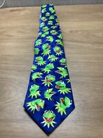 Disney The Muppets Kermit The Frog Tie Collectable Mens Novelty Jim Henson