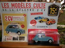 Collection Citroën 2CV TESTE : la 2CV AZAM de 1964 au 1/24 avec son livret