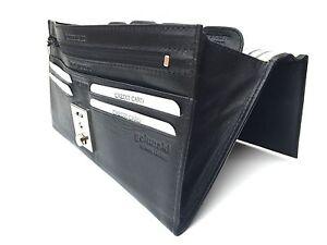 Leather Travel Wallet Passport Holder Golunski Stylish 1004 Organiser 4 Colours
