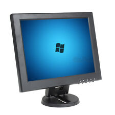 "12"" LCD Screen Monitor Video 1080p HDMI VGA AV BNC CCTV input Fr Camera Security"