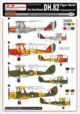 "AZ Models 1/72 De Havilland dh.82 Tiger Moth "" International "" #a7031"
