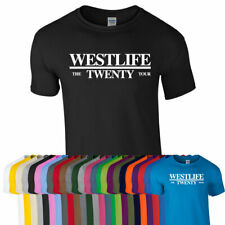 WESTLIFE THE TWENTY TOUR TSHIRT TEE Top 2019 Kids Adults Unisex All Colours