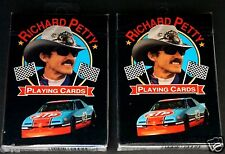 Nascar RICHARD PETTY Playing Cards TWO Set Lot Brand NEW Factory Sealed Unopened