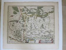 Ducatus Oswieczensis et Zatoriensis (Map of Poland); Blaeu; ca. 1660