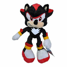 Black Shadow Sonic The Hedgehog Tails Knuckles Plush Doll Stuffed Toy 10 inches