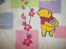 "SCRUB TOP ""WINNIE THE POOH & EEYORE SIZE  LARGE "" A SMILE MAKES A DIFFERENCE F/S"