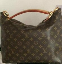 LOUIS VUITTON LV Monogram Sully PM M40586 Shoulder Hand Tote Bag Used