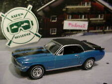 Greenlight Aspen Ski Lodge 1967 FORD MUSTANG SKI COUNTRY SPECIAL✰blue✰loose✰
