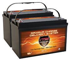 QTY 2 MB137 Golfcart Battery12V 120Ah AGM Group 31 AGM deep cycle VMAX Battery
